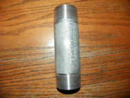 Stainless  1.25 inch X 6 inch Threaded Pipe Quantity (2)