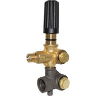 Annovi Reverberi  AR20821  for AR Pumps in the XT and XM Series, is rated for 2600 Max PSI. This pressure regulator unloader