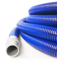 50 ft Blue/Black 2 inch Crush Proof Vacuum Hose