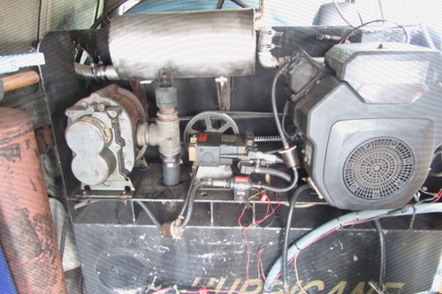 Axis Point Heat Exchangers are easily Adaptable to even a 25 year old Hurricane Truck Mount.
