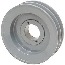 2BKH55 Double grooved B Size Pulley uses Tapered Bushings and requires 5/8 B size Belts