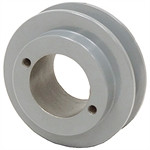 1BKH32 Single Grooved B Size Pulley uses a H-Style Tapered Bushing and 5/8 B Size Belt