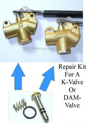 K-Valve & Dam Valve Wand repair kit