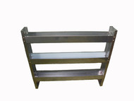 Stainless Steel 3 Tier Chemical Storage Shelve