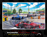 Baltimore Grand Prix, 2011. Official Poster