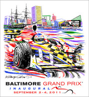 2011 BGP Art Car Collectors Giclee