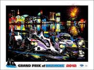 Baltimore Grand Prix ALMS, 2012. Official Poster