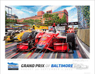 Baltimore Grand Prix, 2013 Official Poster (Special Edition)