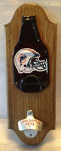 Dolphins Beer Opener Plaque - Logo may vary