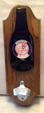 Yankees Beer Opener Plaque