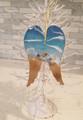 Angel Wings Seascape Ornament