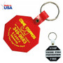 Octagon Key Ring - USA made