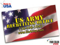 American Flag Business Card Magnet
