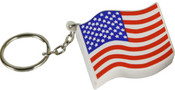 American Flag Key Chain