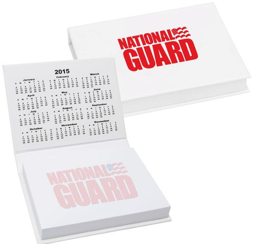 2018 desk calendar sticky notes national guard recruiter
