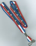 Red White & Blue Lanyard
