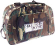Camo Zippered Travel Bag