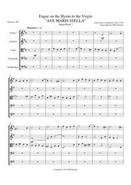 AVE MARIS STELLA (string quintet)