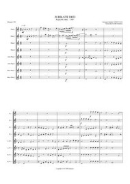 JUBILATE DEO - PSALM 99 (flute octet)