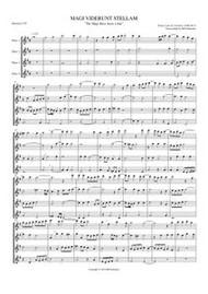 MAGI VIDERUNT STELLAM (flute quartet)