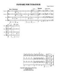 Fanfare for Tubafour (Download)