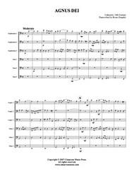 Agnus Dei (Tuba Ensemble) (Download)
