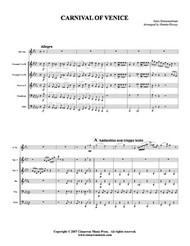 Carnival of Venice (Alto Sax Solo) (Download)