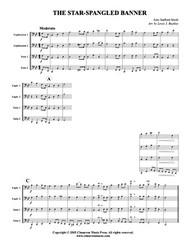 Star Spangled Banner (tuba quartet) (download)
