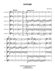 Fanfare (trumpet sextet) (download)