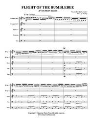 Flight of the Bumblebee (brass quintet) (download)