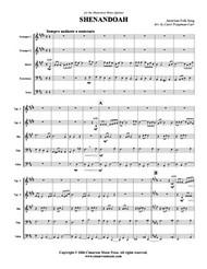 Shenandoah (brass quintet) (download)