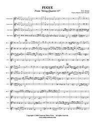 Fugue from String Quartet 13 (Download)
