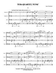 """Tuba Quartet, """"Funk"""" (Download)"""