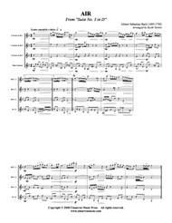 Air (Clarinet Quartet) (Download)