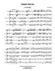 Three Pieces (Woodwind Quintet) (Download)