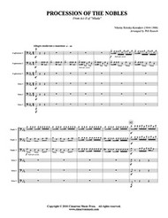 Procession of the Nobles (Tuba Ensemble) (Download)