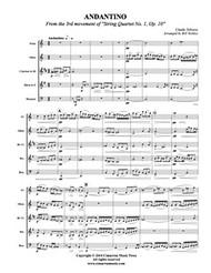 Andantino (Woodwind Quintet) (Downlaod)