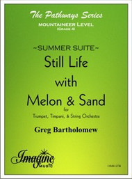 Still Life with Melon & Sand (from Summer Suite)