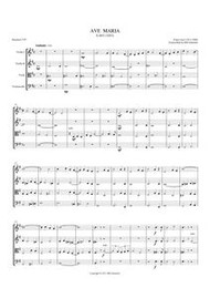 AVE MARIA (1852) (string quartet) (download)