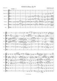 FUGUE, OP 59 (download)
