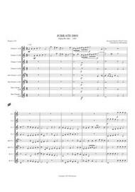JUBILATE DEO - PSALM 99 (clarinet octet) (download)