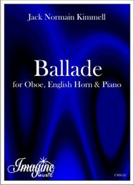 Ballade for Oboe, English Horn and Piano (download)