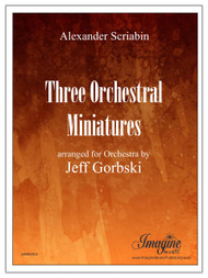 Three Orchestral Miniatures (download)