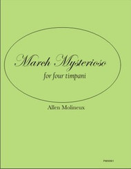 March Mysterioso for Four Timpani (download)