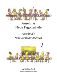 Anselmas Neue Fagottschule (Anselma's New Bassoon Method) Book 1