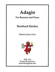 Adagio for Bassoon & Piano