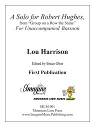A Solo for Robert Hughes (download)