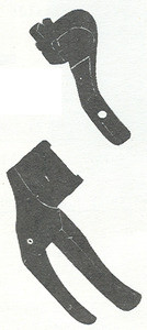 """Product - 5/32"""" SET WELTING FEET (TOP STITCH, SECOND OPERATION) S32-5/32 FOR SINGER 111G 111W 211G 211U 211W (S32-5/32)"""