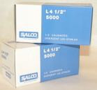 """SALCO  STAPLES FOR L4 TACKER 1/2"""" LEG-CASE"""