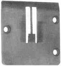 """Product - DOUBLE NEEDLE THROAT PLATE 7/8""""267858-056 (267858-7/8 ) FOR SINGER 300W SINGER 302U SINGER 302W SINGER 320W (267858-056)"""